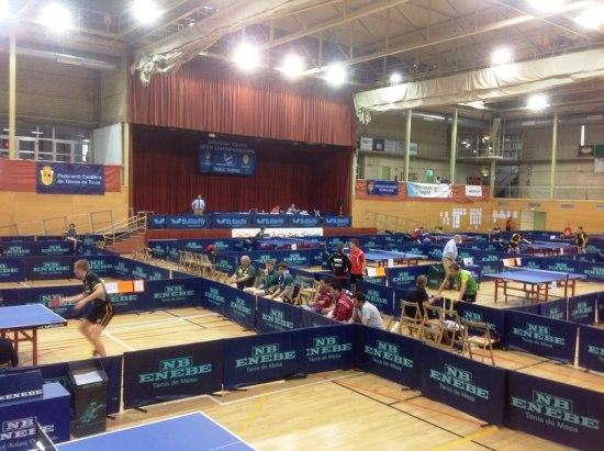 теннисный зал в Испании