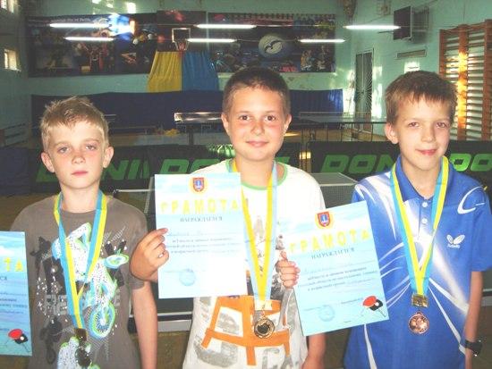 призеры в Одессе