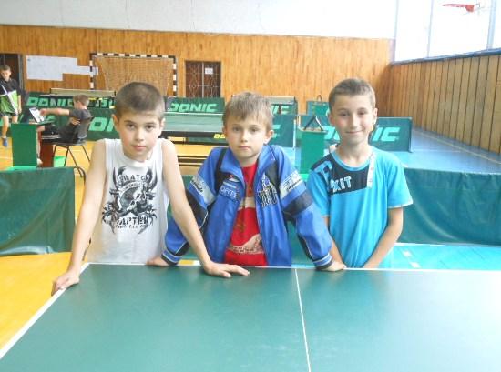 теннисисты Хмельницкой области