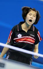 Теннисистка CHIU Ssu-Hua из Тайбея