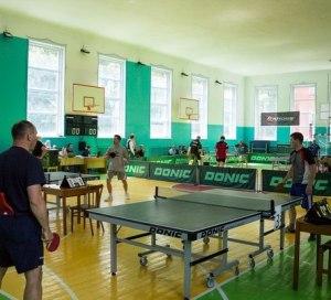 заставка для турнира по настольному теннису