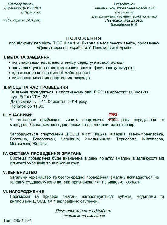 Положення Львов 2