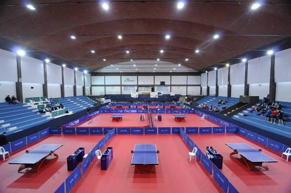 Зал для настольного тенниса в Буэнос-Айресе