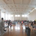 Зал перед соревнованиями