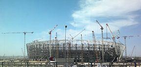 новый стадион в Баку