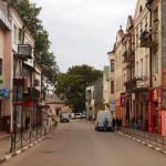 центральная улица Рогатына