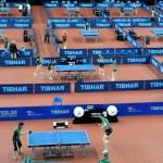 зал для настольного тенниса в Португалии