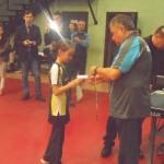 Награждается Елена Пентюк