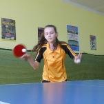 Удар в настольном теннисе