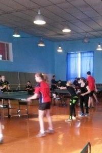 Командные соревнования по настольному теннису