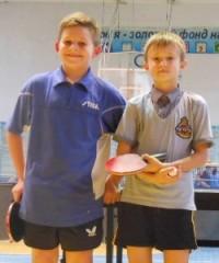 Даниил Макаров и Александр Лукьяненко — участники чемпионата Украины для миникадетов