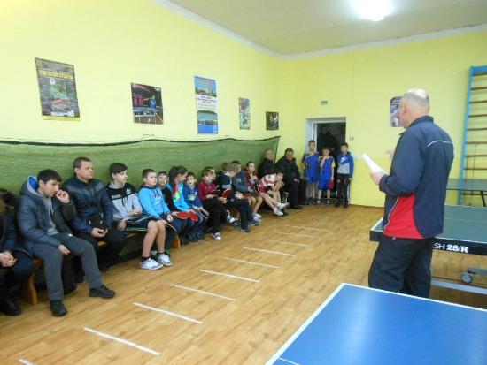 Открытие турнира в Славуте