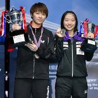 Chen Szu-Yu (слева), Maeda Miyu (справа)