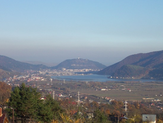 Бистрица, панорама