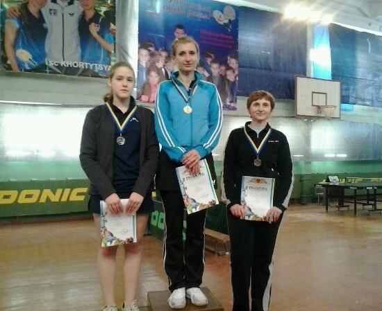 Призерки у женщин: Марина Усачова (1 место), Полина Шкатула (2 место), Дина Тищенко (3 место)