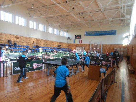 Зал для настольного тенниса