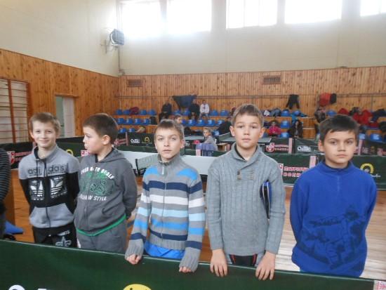 одесские теннисисты