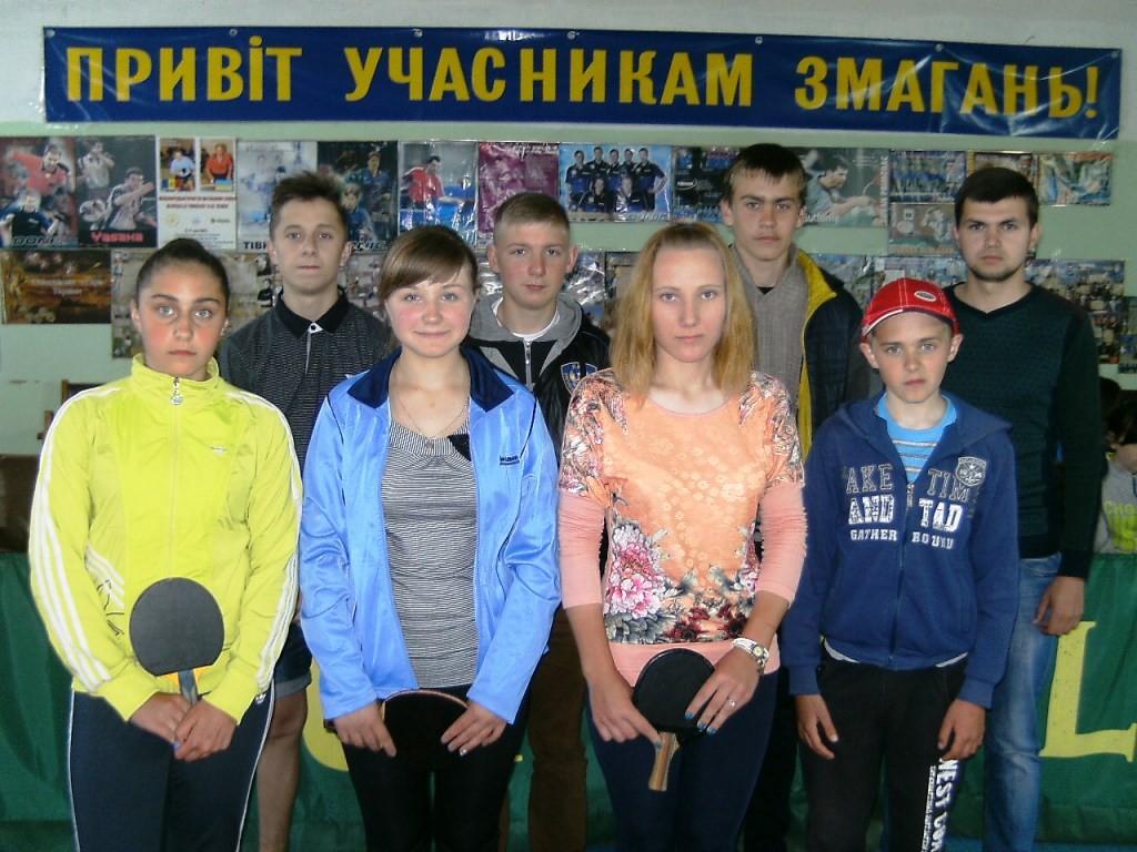 Команда ДЮСШ г. Виньковцы