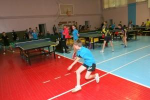 Играют теннисисты Рогатина