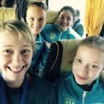 Юлия Синицына, Вероника Перебийнис, Екатерина Кизюк, Соломия Братейко