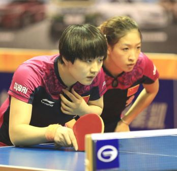 Liu Shiwen, Chen Meng