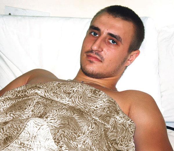 Александр Чорпита в Киевскому госпитале