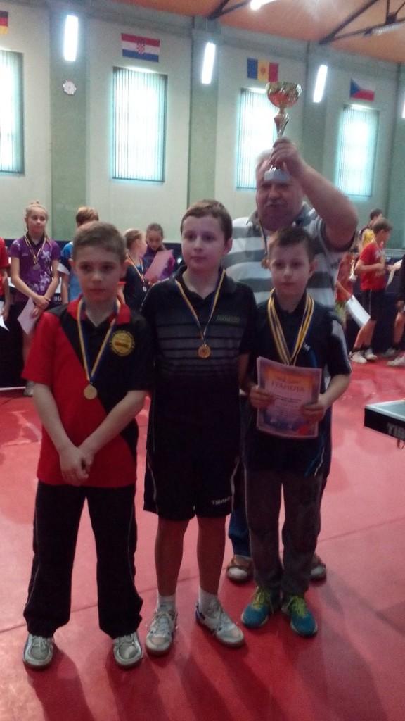 Лучшая команда мальчиков среди областей Украины - львовяне!