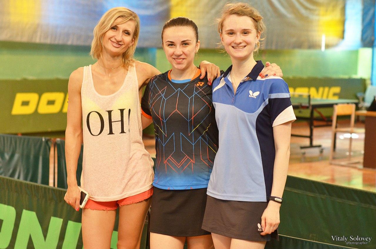 Призерки у женщин (справа налево): Элина Вахрушева, Мария Шевченко, Марина Усачева