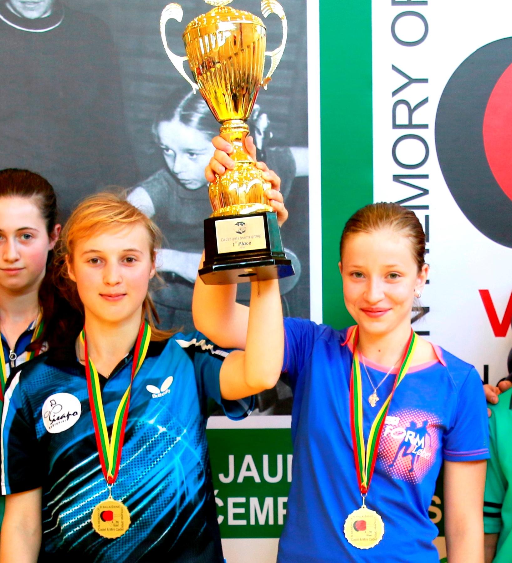 Александра Цюпко и Вероника Перебийнис - чемпионки турнира