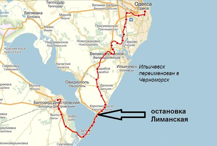 Затока карта