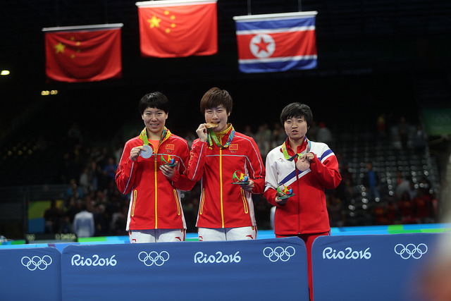 медалистки Олимпийских игр-2016
