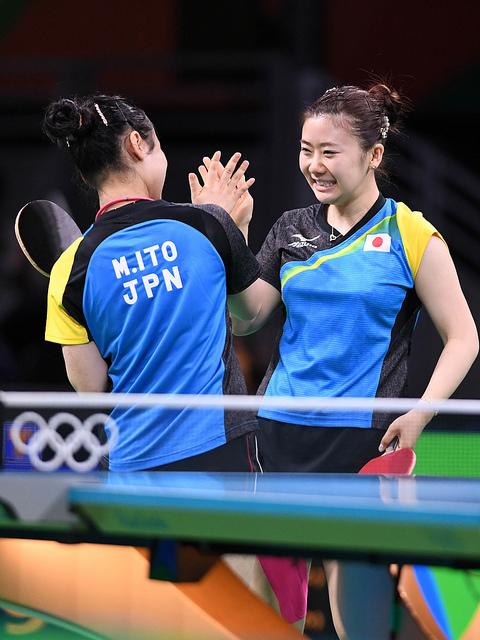 Японки Ито Мима и Аи Фукухара довольны: они, играючи, прошли две европейских сборных!
