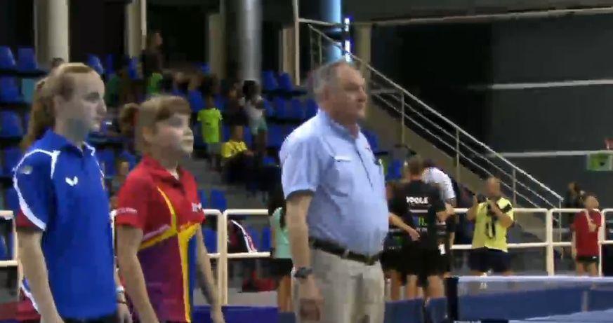 Перед поединком. Светлана Димитренко оказалась на голову выше своей соперницы в прямом и переносном смыслах!