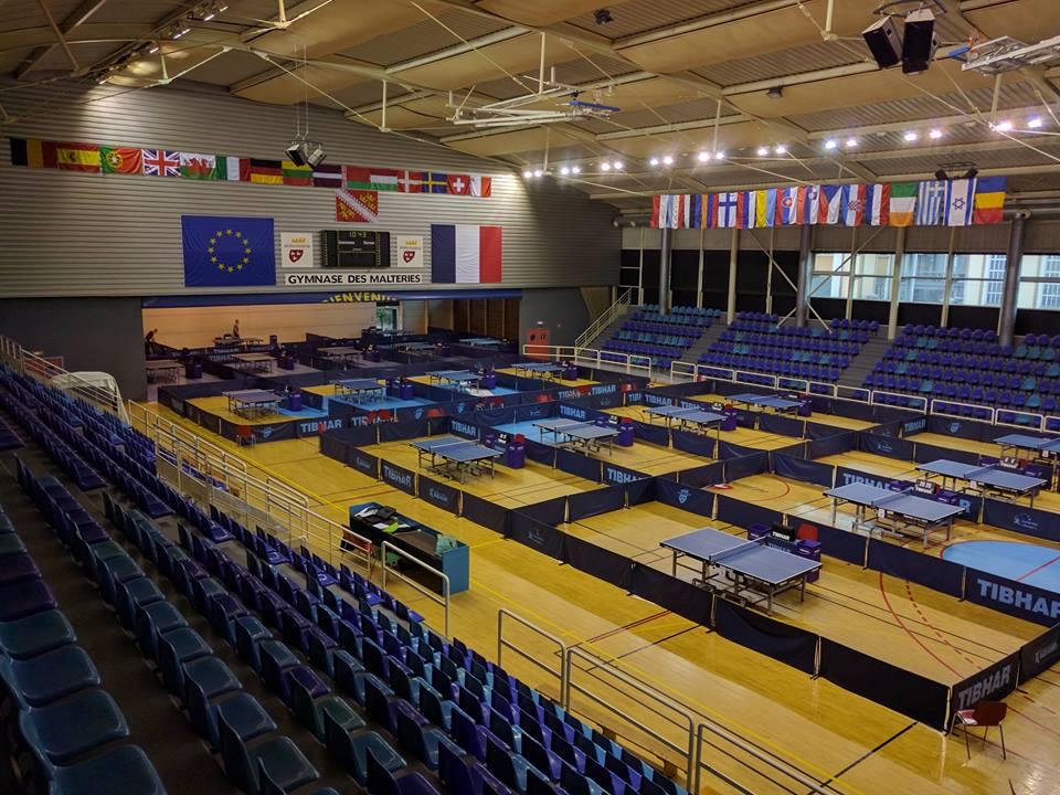 Зал, где проводится соревнования