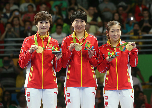 Китаянки - олимпийские чемпионки 2016 года!