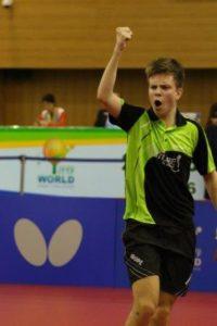 Владимир Сидоренко - лучший в Европе по настольному теннису