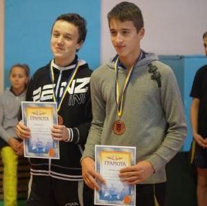 Бронзовые медалисты: Максим Михайлович и Давид Симончук