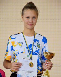 Марія Демчук, Заліщики Тернопільської області, 1 місце у віковій категорії 2007-2009 р.н.